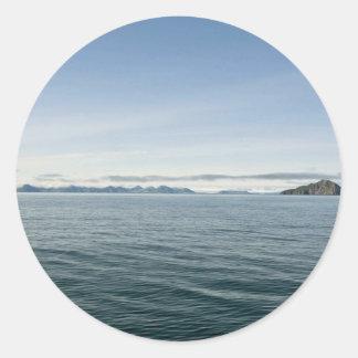 Kasatochi Island, Aleutian Islands Classic Round Sticker