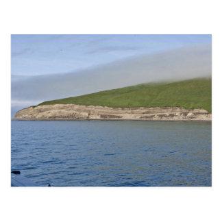 Kasatochi Island bluffs, Andreanof Islands Postcard