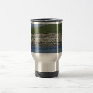 Kasatochi Island bluffs 15 Oz Stainless Steel Travel Mug
