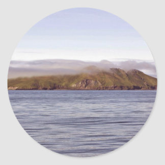 Kasatochi Island Classic Round Sticker