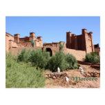 Kasbah en AIT Ben Haddou, Marruecos Postales
