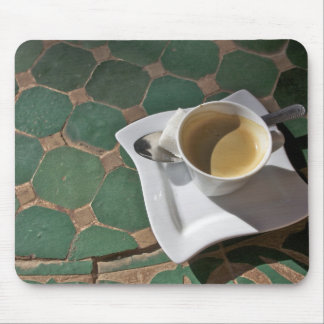 Kasbah Hotel and Restaurant, coffee and green Mouse Pad