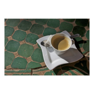 Kasbah Hotel and Restaurant, coffee and green Poster