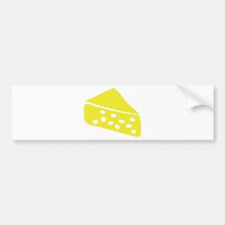 käse icon bumper sticker
