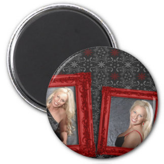 Kasey Lansdale 2 Inch Round Magnet