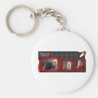 Kasey Lansdale Basic Round Button Keychain