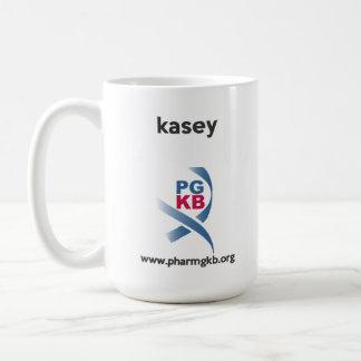 kasey - rojo del coadjutor taza clásica
