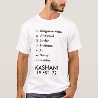 KASHANI Men's Basic T-Shirt