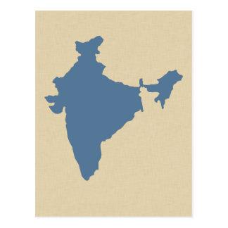 Kashmir Blue Spice Moods India Postcard