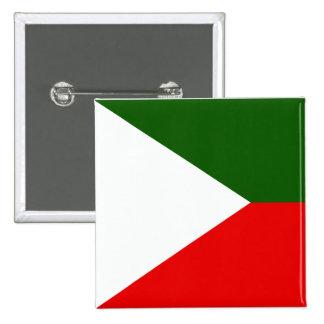 Kashmir Independent, India flag Pinback Button