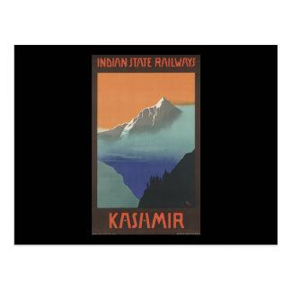 Kashmir Indian State Railways Post Cards