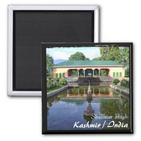 Kashmir, Srinagar - Shalimar Gardens (Magnet)