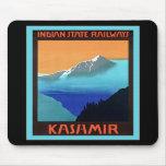 Kashmir ~ Vintage Travel Mouse Pad