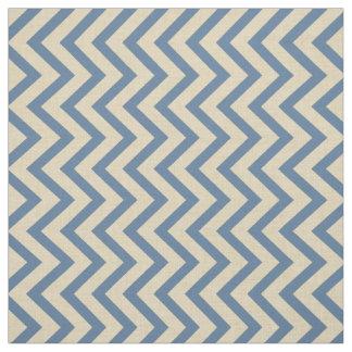 Kashmire Blue Spice Moods Chevrons Fabric