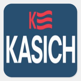 Kasich Logo Square Sticker