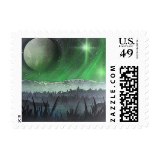 Kaskets Spray Art Postage Stamps