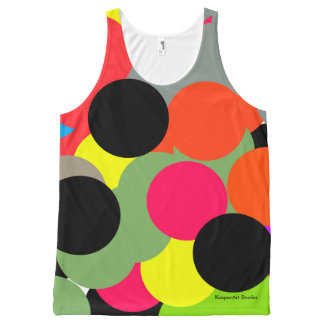 "KasperArt Studio Ladies Tank Top ""Circle Pop"""