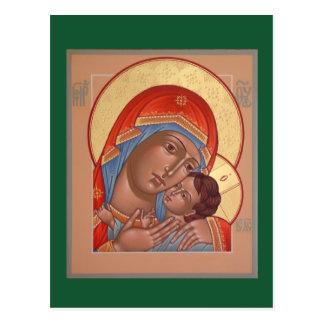 Kasperov Mother of God Postcard