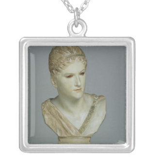 Kassandra, c.1895 silver plated necklace
