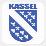 Kassel Calcomanía Cuadradas