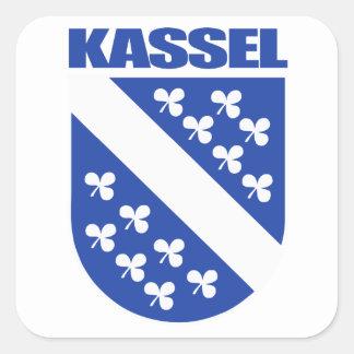 Kassel Square Sticker