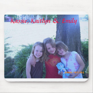 Kassie, Kaitlyn y Emily Tapete De Raton