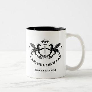 Kasteel De Haar Arms 01 Two-Tone Coffee Mug