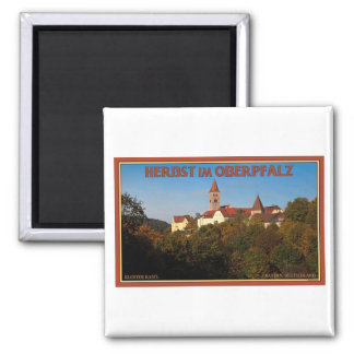 Kastl - Autumn in the Oberpfalz 2 Inch Square Magnet