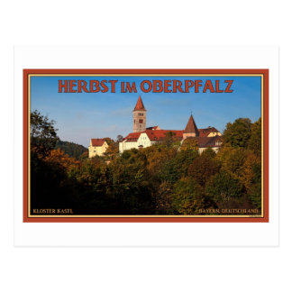 Kastl - Autumn in the Oberpfalz Postcard