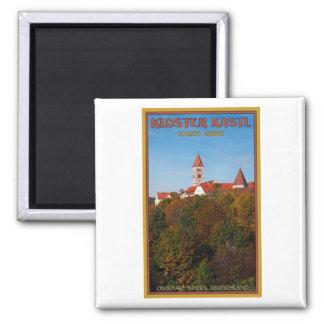 Kastl - Kloster 2 Inch Square Magnet
