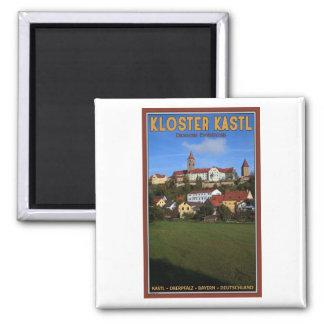 Kastl - Kloster Kastl 2 Inch Square Magnet