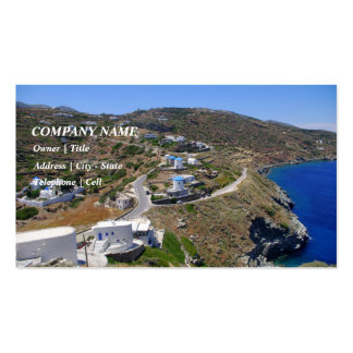 Kastro - Sifnos Business Cards
