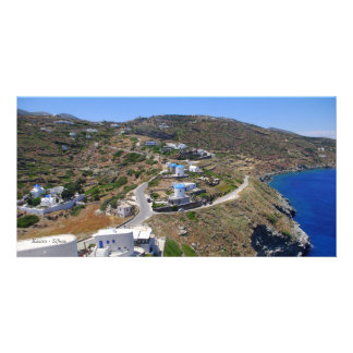 Kastro - Sifnos Photo Card