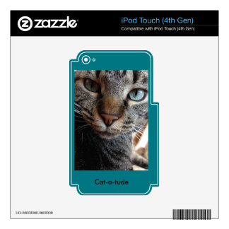 Kat-a-tude Collection iPod Touch 4G Skin