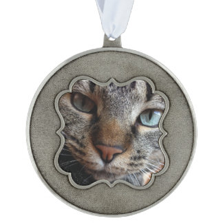 Kat-a-tude Collection Pewter Ornament