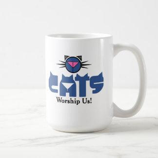 Kat Krazy Worship Coffee Mug
