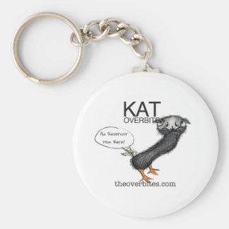 Kat Overbite Keychain