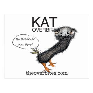 Kat Overbite Postcard