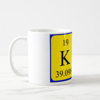 Kat periodic table name mug