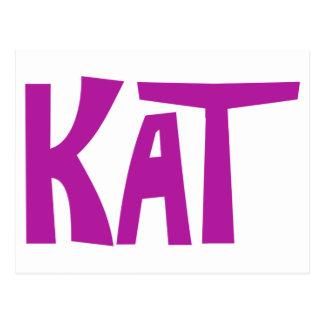 Kat Postcard