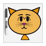 kat teken bobord dry erase whiteboard