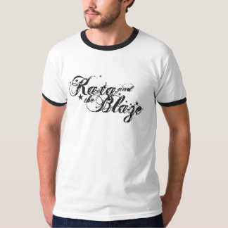 Kata and the blaze - ringer tee
