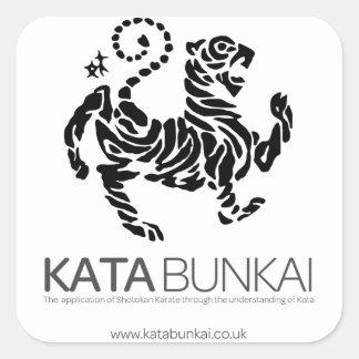 Kata Bunkai Sticker