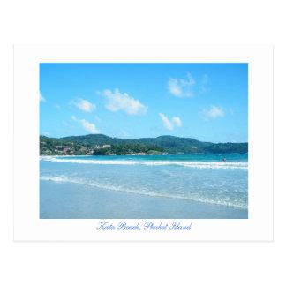 kata, Kata Beach, Phuket Island Post Cards