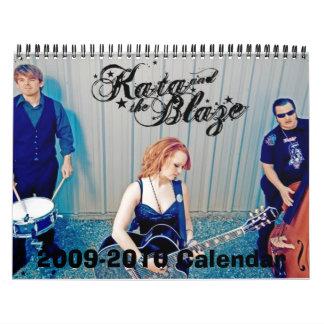 Kata & The Blaze Calendar