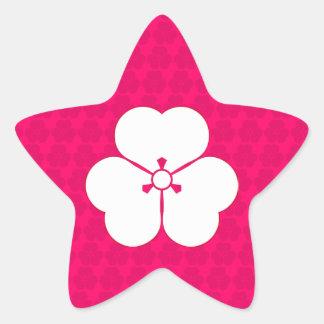Katabami Star Sticker