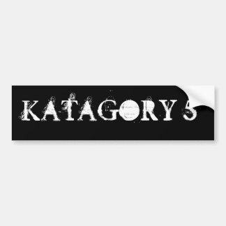 KATAGORY 5 PEGATINA PARA AUTO