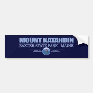 Katahdin Bumper Sticker