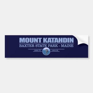 Katahdin Car Bumper Sticker