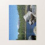 Katahdin en las rocas puzzle